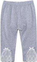 Richie House Girls' Crooped Pants Leggings RH684-C