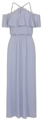 Dorothy Perkins Womens *Girls On Film Powder Blue Maxi Dress, Blue