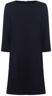 Gant Wool Check Dress