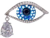 Butler & Wilson Butler and Wilson Big Brother Crystal Eye Brooch