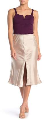 CODEXMODE High Slit Midi Skirt