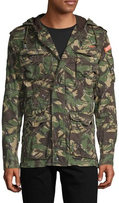 Superdry Military Rookie Splatter Jacket