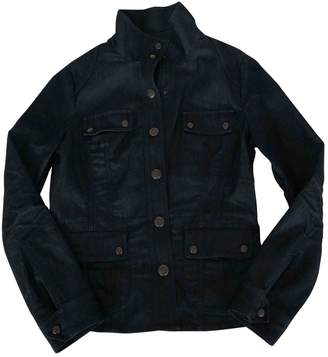 Armani Jeans Navy Denim - Jeans Jacket for Women