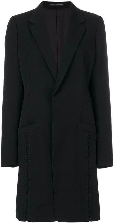 Y's single breasted coat