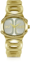 Just Cavalli Born JC - Golden Dial Bracelet Watch