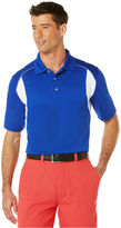 PGA TOUR Big and Tall Golf Airflux Color Block Performance Polo