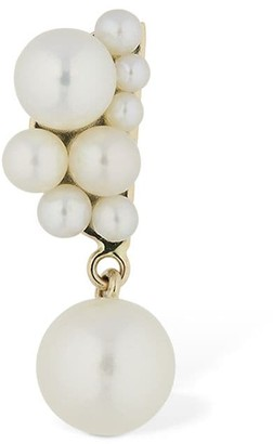 Sophie Bille Brahe Petite Corail Pearl Rx Mono Earring
