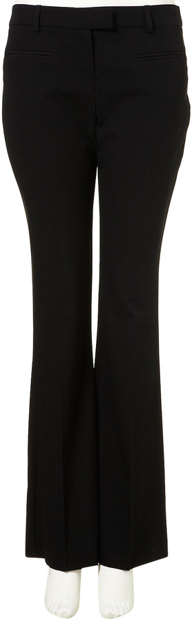 Topshop Black Bootcut Trousers
