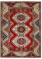 Ecarpetgallery Royal Kazak Indoor Hand-Knotted Wool Persian Rug