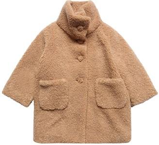 Il Gufo Faux Shearling Coat