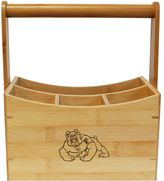 Fresno State Bulldogs Bamboo Utensil Caddy