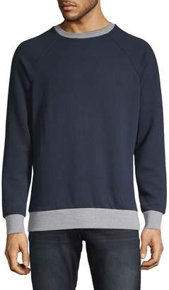 Sovereign Code Contrast-Trim Crewneck Sweater