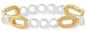 Maya Magal London London 18-karat Gold Vermeil And Sterling Silver Ring