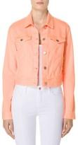 J Brand Women's Sun Harlow Shrunken Denim Jacket