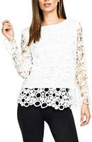 Adore Bubble Crochet Top