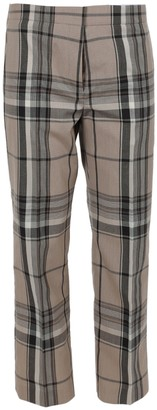 Burberry Check Print Isabelle Trousers