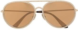 Tom Ford Antibes aviator sunglasses
