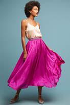 Ne Quittez Pas Libra Silk Skirt