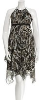 Matthew Williamson Patterned Sleeveless Dress