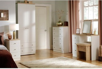 Swift Naples Ready Assembled 3 Drawer Bedside Chest