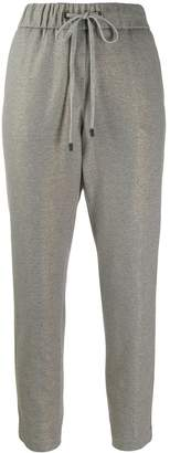 Peserico tapered panel jogging trousers
