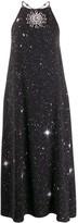 Christopher Kane Star Crystal Halterneck Dress