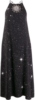 Christopher Kane Star Crystal Halterneck Dress