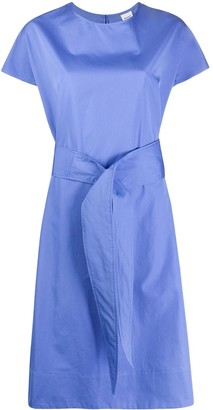 Aspesi Tie Waist Mid-Length Dress