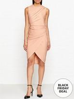 DKNY Sleeveless Draped Dress