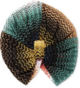 Missoni Mare Crochet-knit Turban - Green