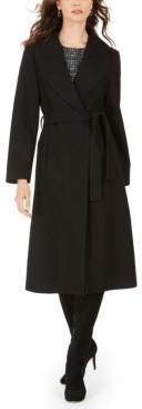 Jones New York Belted Maxi Coat