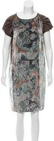 Etro Patterned Velvet Dress
