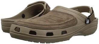 Crocs Yukon Vista Clog (Espresso/Khaki) Men's Clog Shoes