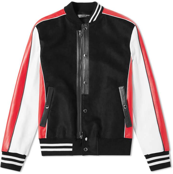 c8d3acdf21d Varsity Jackets For Men Black And White - ShopStyle