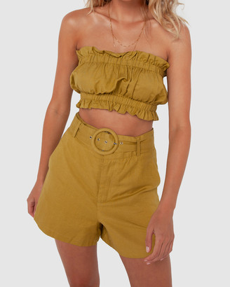 Madison The Label - Women's High-Waisted - Monique Shorts - Size One Size, 6 at The Iconic