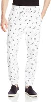 Southpole Men's Jogger Pants Cotton Twill with All Over Mini Prints