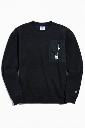 Champion Sherpa Crew Neck Sweatshirt