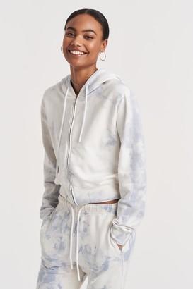Cotton Citizen 100% Cotton Milan Zip Hoodie Top
