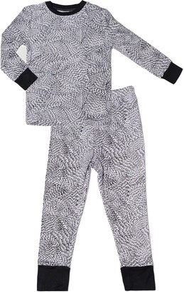 Baby Grey by Everly Grey Baby Grey Fitted Two-Piece Pajamas