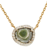 Celine Daoust Watermelon and Diamond Necklace - Yellow Gold