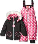 Kensie Baby Girls' 2 Piece Snowsuit