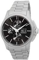 Gucci Round Stainless Steel Chronograph Watch