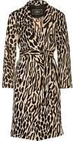 By Malene Birger Apponia Leopard-Jacquard Coat