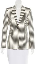 Akris Punto Wool Striped Blazer