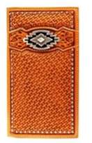 Ariat A3515008 Aztec Rodeo Wallet, Tan - One Size