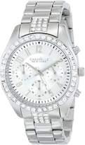 Bulova Caravelle New York Women's 43L171 Analog Display Japanese Quartz White Watch
