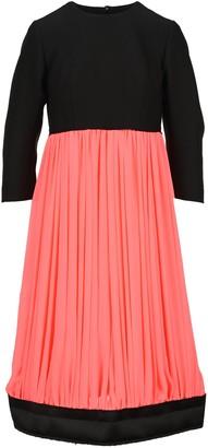 Comme des Garcons Colour Block Pleated Dress