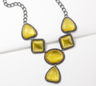 Logo By Lori Goldstein LOGO Links by Lori Goldstein Yellow Dazzle Necklace
