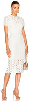 Lover Charlotte Sheath Dress in White.
