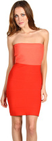 BCBGMAXAZRIA Alyona Colorblock Bandage Dress
